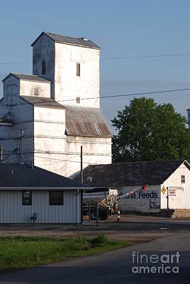 Photograph - Small Town Feed Mill by Mark McReynolds