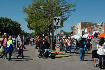Photograph - Small Town Festival by Robyn Stacey
