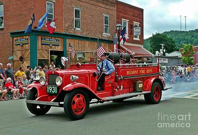 Photograph - Small Town Fourth Of July by Christian Mattison