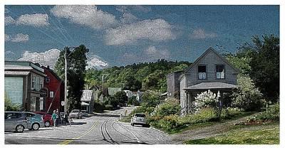 Small Town Mount Vernon Maine ...#4 Original