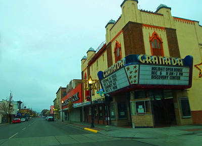 Photograph - Small Town Usa by Jacqueline  DiAnne Wasson