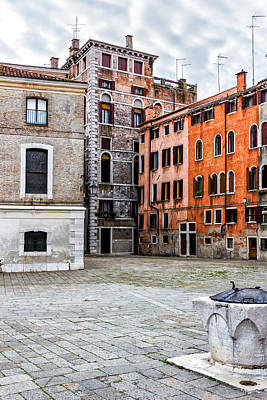 Small Venetian Square Art Print