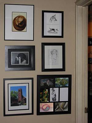 Photograph - small Wall of Framed by Peter Piatt