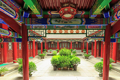 Small Wild Goose Temple, South Xi'an Art Print by Stuart Westmorland