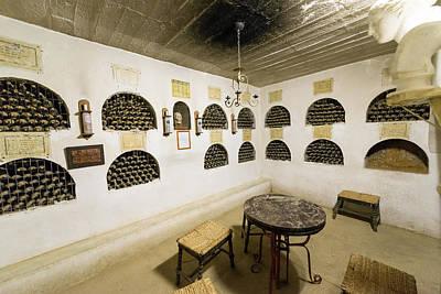 Wine Cellar Photograph - Small Wine Cellar by Jess Kraft