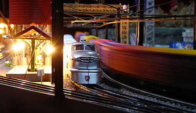 Photograph - Small World - Rushing Past by Richard Reeve