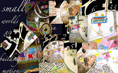 Digital Art - Small Worlds Collage by Clarity Artists