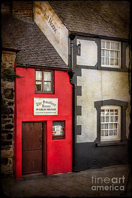 Conwy Photograph - Smallest House by Adrian Evans
