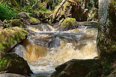 Photograph - Smallish Falls At Smalley Falls by Theo O Connor