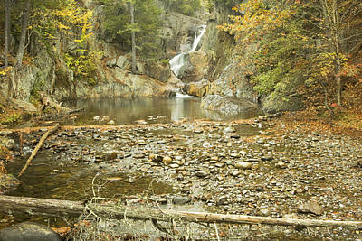 Photograph - Smalls Falls In Autumn Western Maine by Keith Webber Jr