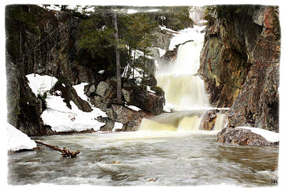 Photograph - Smalls Falls In Winter by John Meader
