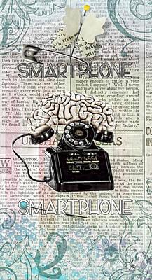 Digital Art - Smartphone by Mo T