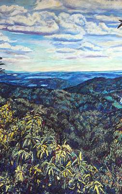 Painting - Smartview Blue Ridge Parkway by Kendall Kessler
