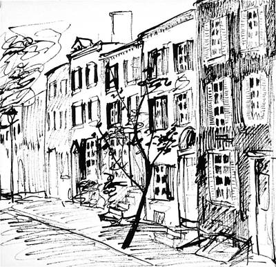 Smedley Street Original by Deborah Dendler