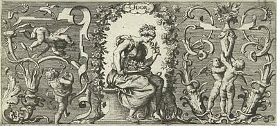 Smell, Franz Cleyn, Anonymous, Robert Walton Art Print