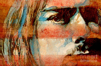 Kurt Cobain Painting - Smells Like Teen Spirit by Paul Lovering