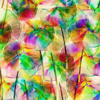 Multicolored Digital Art - The Smell Of Summer by Klara Acel