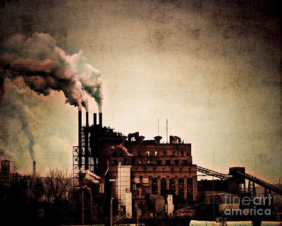Smelter Art Print by Arne Hansen