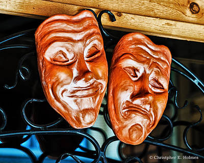 Photograph - Smile And Frown by Christopher Holmes