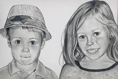 Smile Jimmy Art Print
