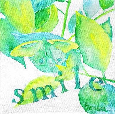 Painting - Smile by Sandra Neumann Wilderman
