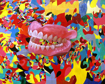 Translate Digital Art - Smile by Sarah Wathen