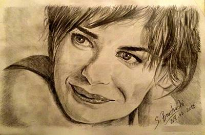 Drawing - Smile by Soumya Bouchachi