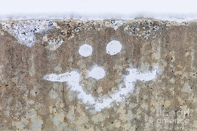 Photograph - Smiley Face by Diane Macdonald