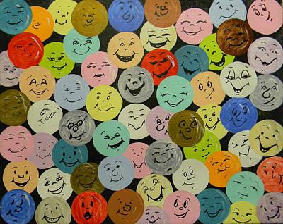 Smilies Art Print