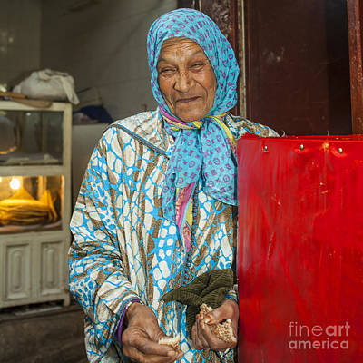 Photograph - Smiling Arab Woman by Patricia Hofmeester