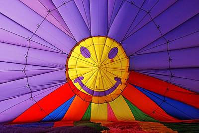 Photograph - Smiling Balloon by Daniel Woodrum