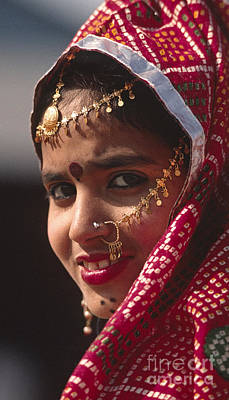 Photograph - Smiling Dancer - Rajasthan India by Craig Lovell