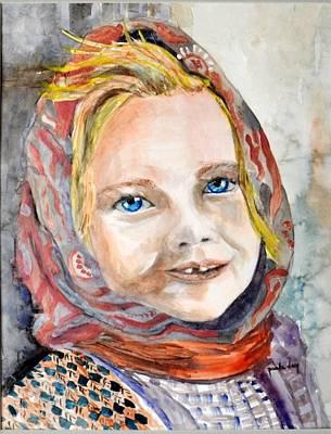 Smiling Eyes Art Print