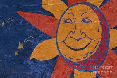Smiling Sun Art Print