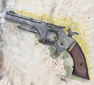 Painting - Smith And Wesson Number 1 2nd Issue by Kevin Callahan