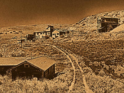 Smith Mine Art Print by Leland D Howard