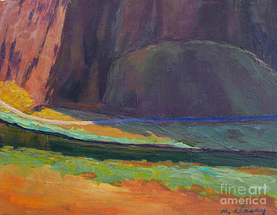 Painting - Smith Rock Basin by Melody Cleary