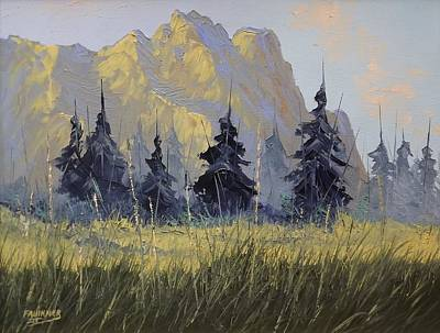 Painting - Smith Rock Oregon by Richard Faulkner