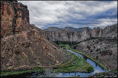 Photograph - Smith Rock State Park by Erika Fawcett