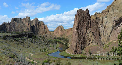 Photograph - Smith Rocks by Jeff Loh