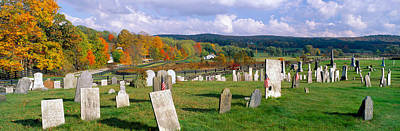 Smithfield Cemetery And Farms Print by Panoramic Images