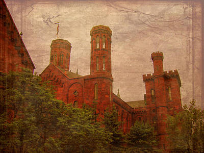 Photograph - Smithsonian Castle by Cindy Wright