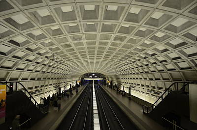 Photograph - Smithsonian Station by Mark Bowmer