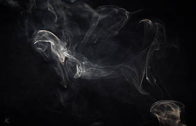 Photograph - Smoke 1 by Kelly Smith