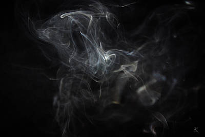 Photograph - Smoke 2 by Kelly Smith