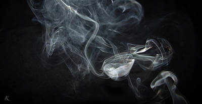 Photograph - Smoke 3 by Kelly Smith