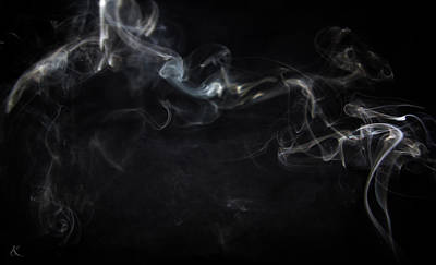Photograph - Smoke 4 by Kelly Smith