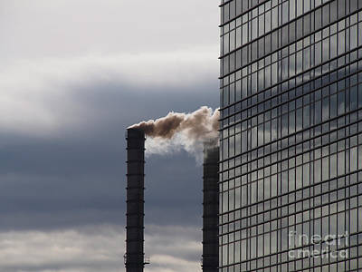 Warming Filter Photograph - Smoke Attack by Dragan Dejanovic