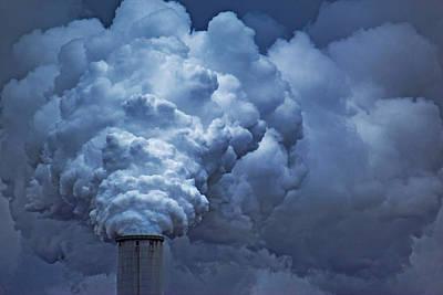 Smoke Billows Art Print