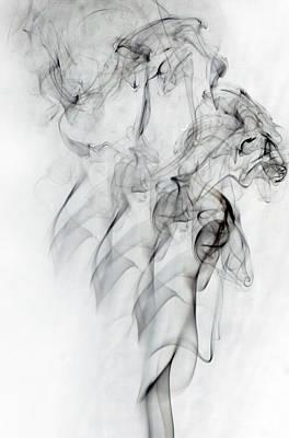 Photograph - Smoke Dance by Robert Camp
